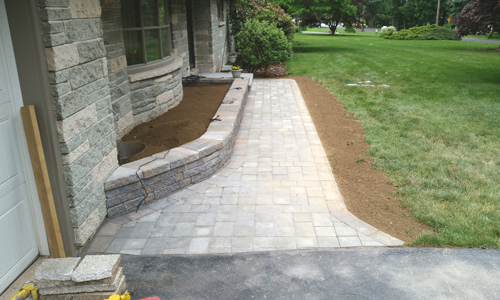 Paver Patios and Side Walks